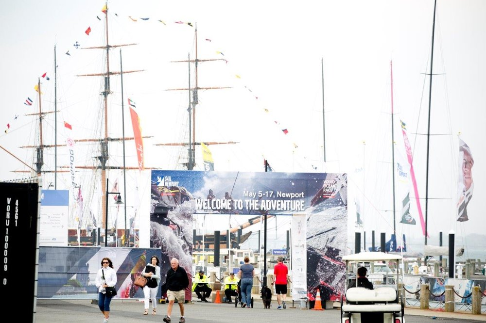 Welcome to Race Village entrance.jpg