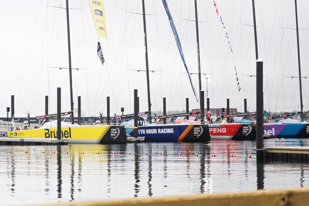 Volvo Ocean Race: 2015 + 2018 Newport Stopovers -