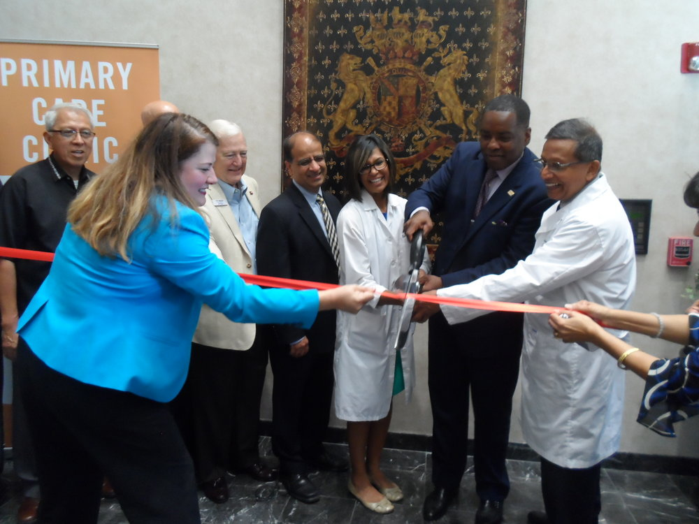 Dala's team created this ribbon-cutting event for The Primary Care Clinic of North Texas attended by Plano Mayor Harry LaRosiliere.