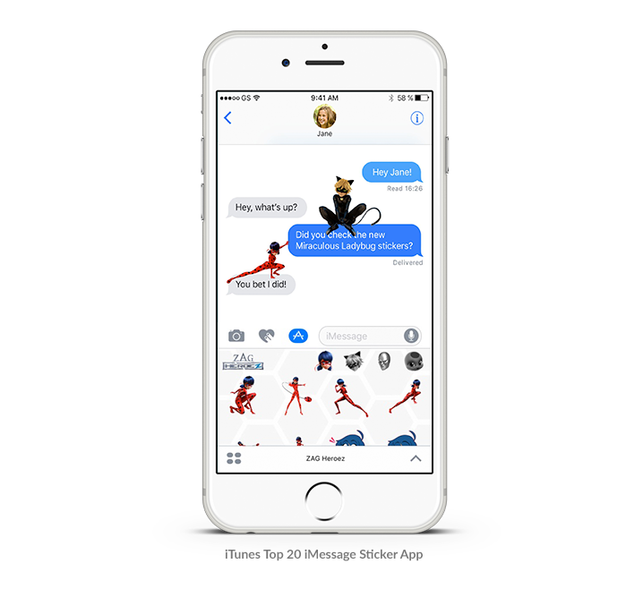 Launch your very own iMessage sticker app - Activate your brand ambassadors and share your designs with an iMessage sticker app!Simply upload, customize, and hit submit to send stickers and GIFS straight to your iMessage app. Allow iPhone users to engage with your brand in their text conversations every day.