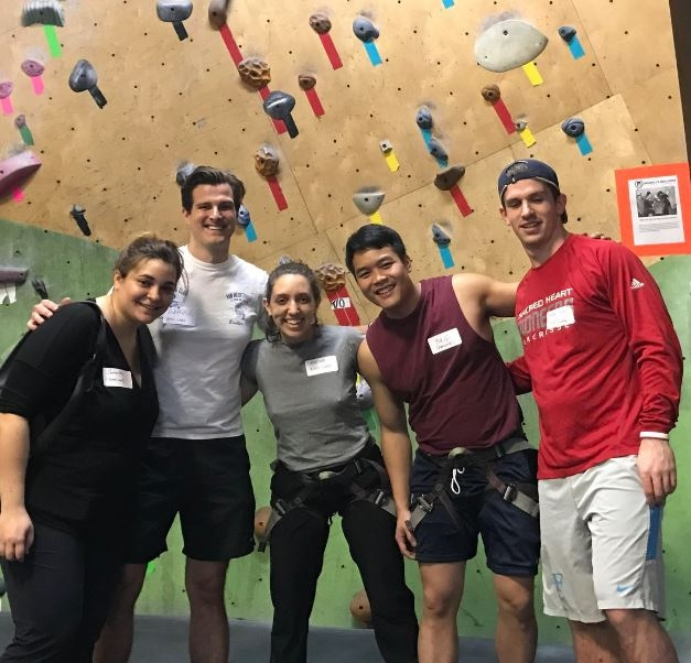 """When the Instabot team isn't doing demos or building products...we're rock climbing! #LifeAtInstabot"""