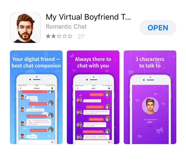 Girls chatting app