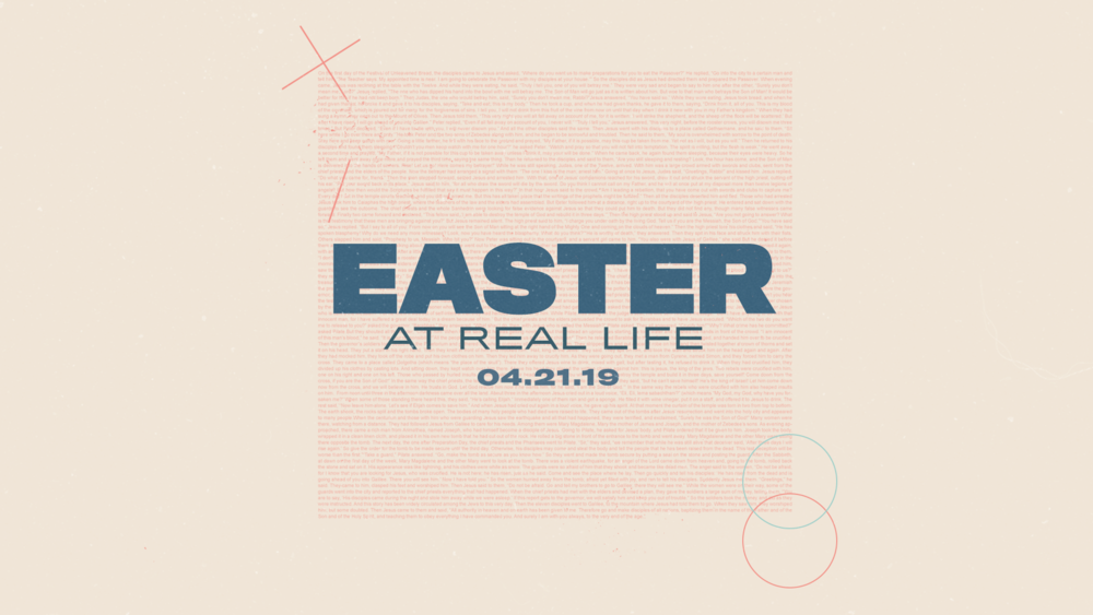 easter at real life church non-denominational in springboro ohio