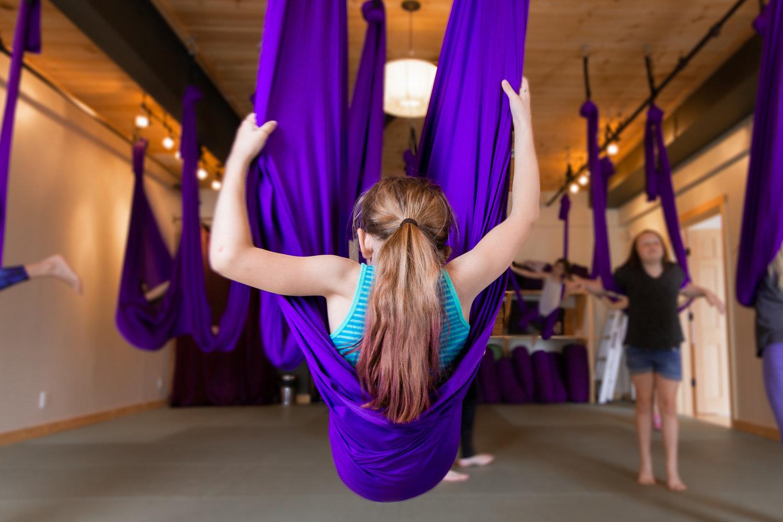Aerial Yoga For Kids — Common Ground Yoga