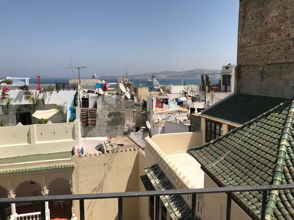 View of Tangier from the rooftop.JPG