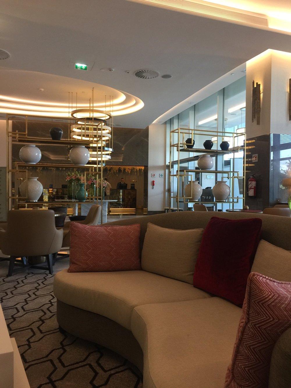 The Tangier Hilton Lobby.JPG