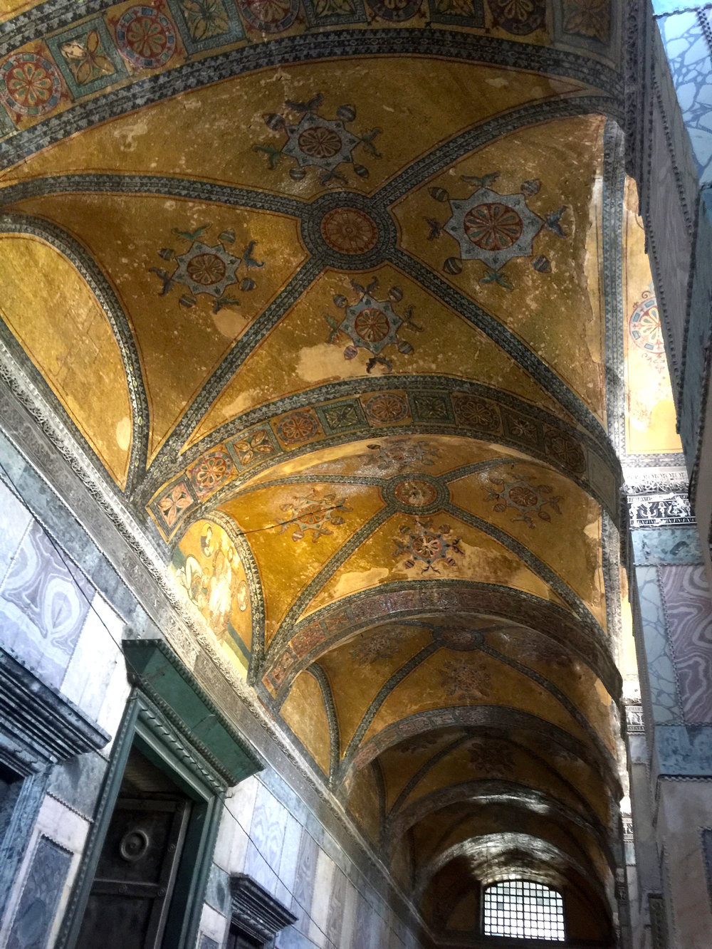 The corridor of Hagia Sophia