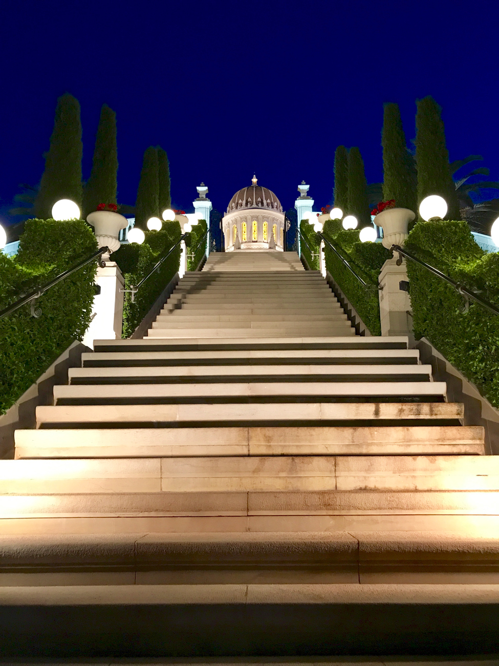 Baha'i Shrine of the Bab in Haifa Israel