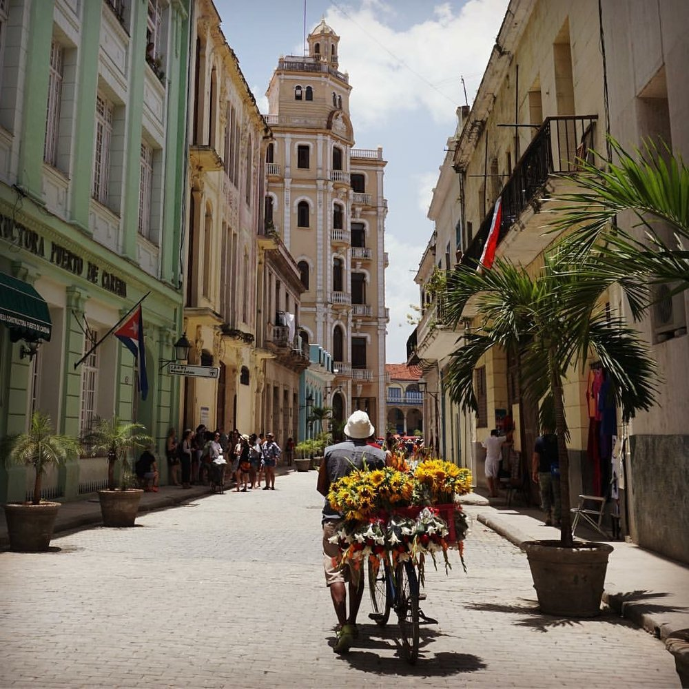 Take a good map and explore the streets of Havana on foot.
