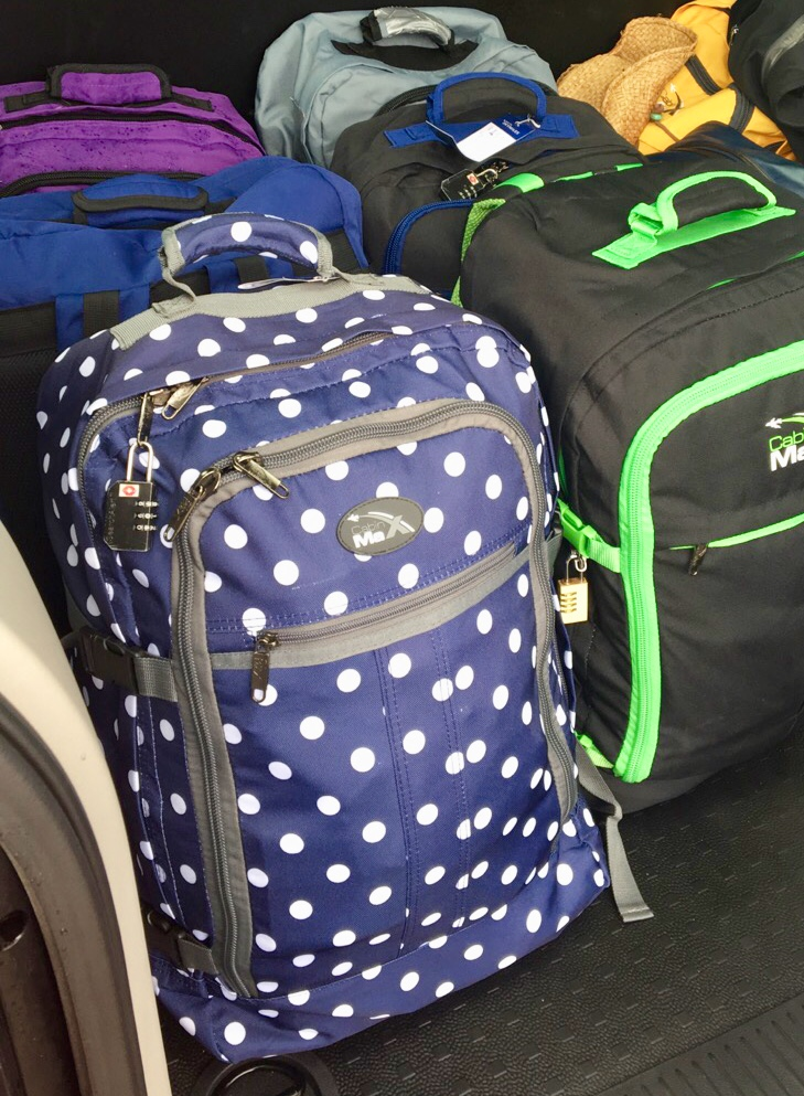 Quick tip: If you are flying on Ryannair, the  CABIN MAX bags are one of your very few options for carry-ons.