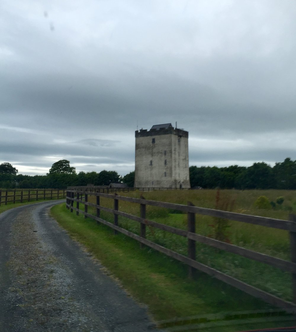 Turin Castle,  our home away from home for the rest of the week.