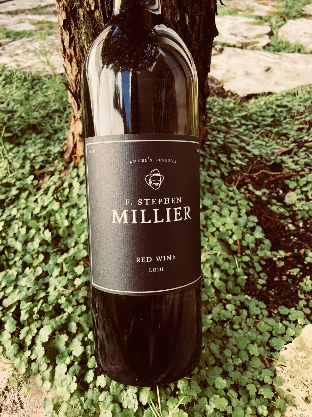 - F. Stephen Millier Angel's Reserve Red Blend Lodi 2016 has a high alcohol nose so let it breathe! With this blend of Shiraz, Merlot, Zinfandel and Petite Sirah we got notes of dark cherry and blackberry. It paired well with our homemade pasta.List $17 Angels Price $10