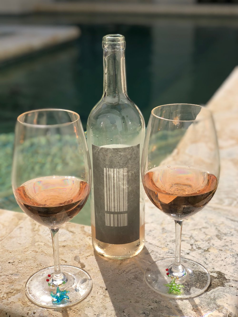 """- Matt Iaconis Pinot Noir Rosé Santa Rita Hills 2017 falls in the middle of the spectrum from acidic dry to fleshy fruity, so we dub it """"a real crowd pleaser."""" We'd buy it again.Angel Price $13"""