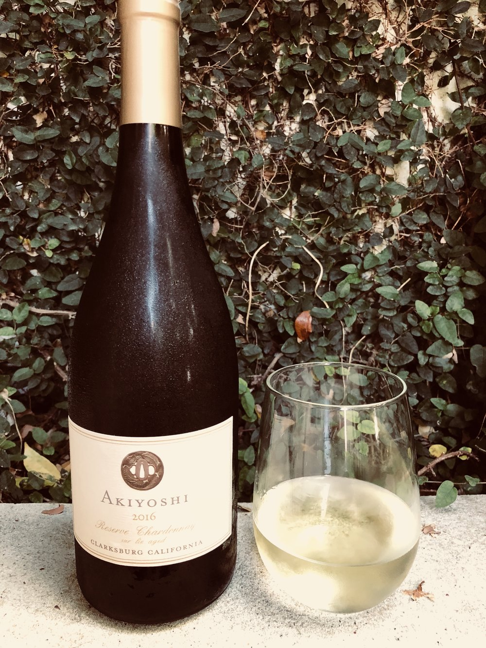 - David Akiyoshi Reserve Chardonnay Clarksburg 2016. We are happy the Angels rescued this vineyard from being ripped up and gave Akiyoshi the funding to focus on quality over quantity. Very fresh combination of white peach, citrus and vanilla, nicely malolactic,lightly-oaked sur lie aged 10 months, subtle honey sweetness at finish. Paired well with our Shrimp Curry. Again, message us if you'd like the recipe. We will buy again - great value!List $20 Angel Price $12