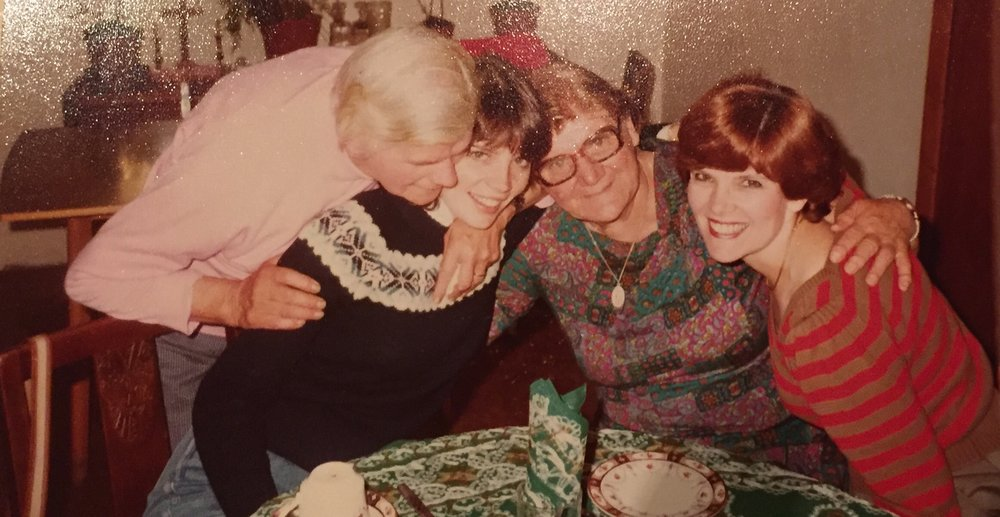 The last time She was in Ballyglass (1981) She was fortunate to spend quality time with Aunt Eileen and Aunt Margaret.