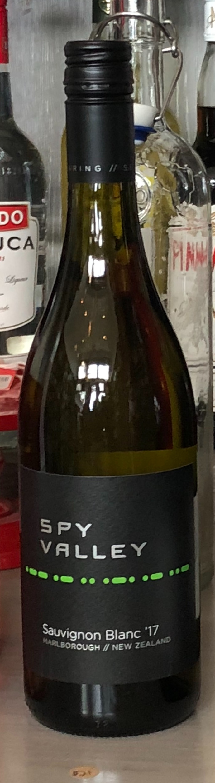 Spy Valley Sauvignon Blanc - Classic Marlborough flavors (think Kim Crawford). Winery got its name because it is located near the Waihopai Station, a controversial satellite communications monitoring facility allegedly used by the NSA to intercept communications from that end of the earth. $21