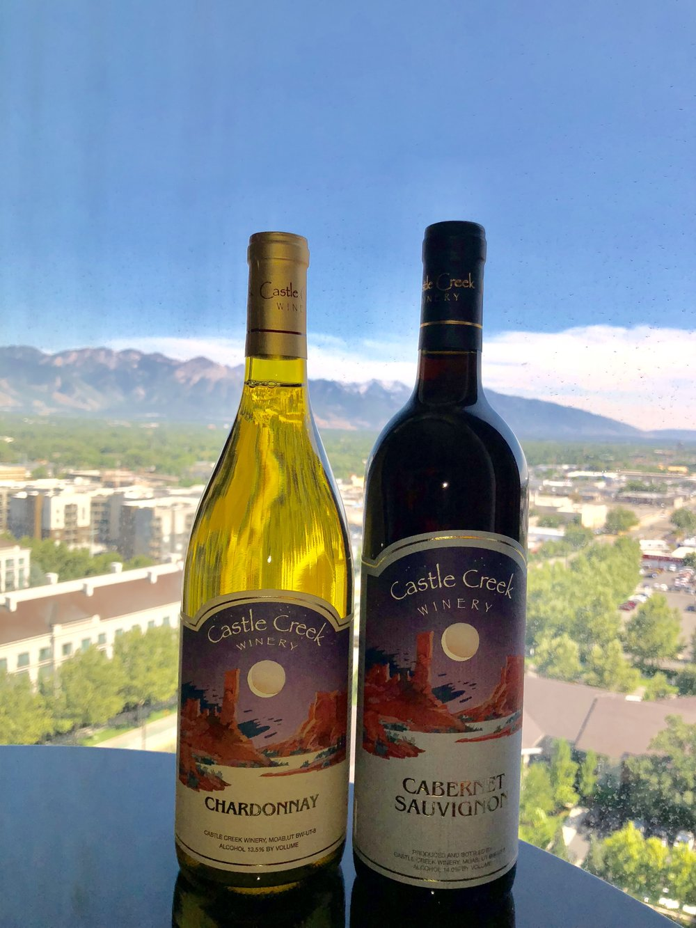 Cheers to Castle Creek from Salt Lake City!