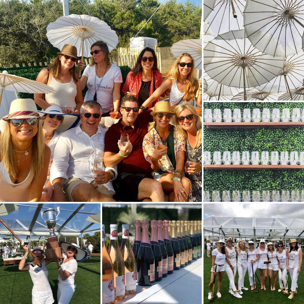 Croquet and Rosé all day