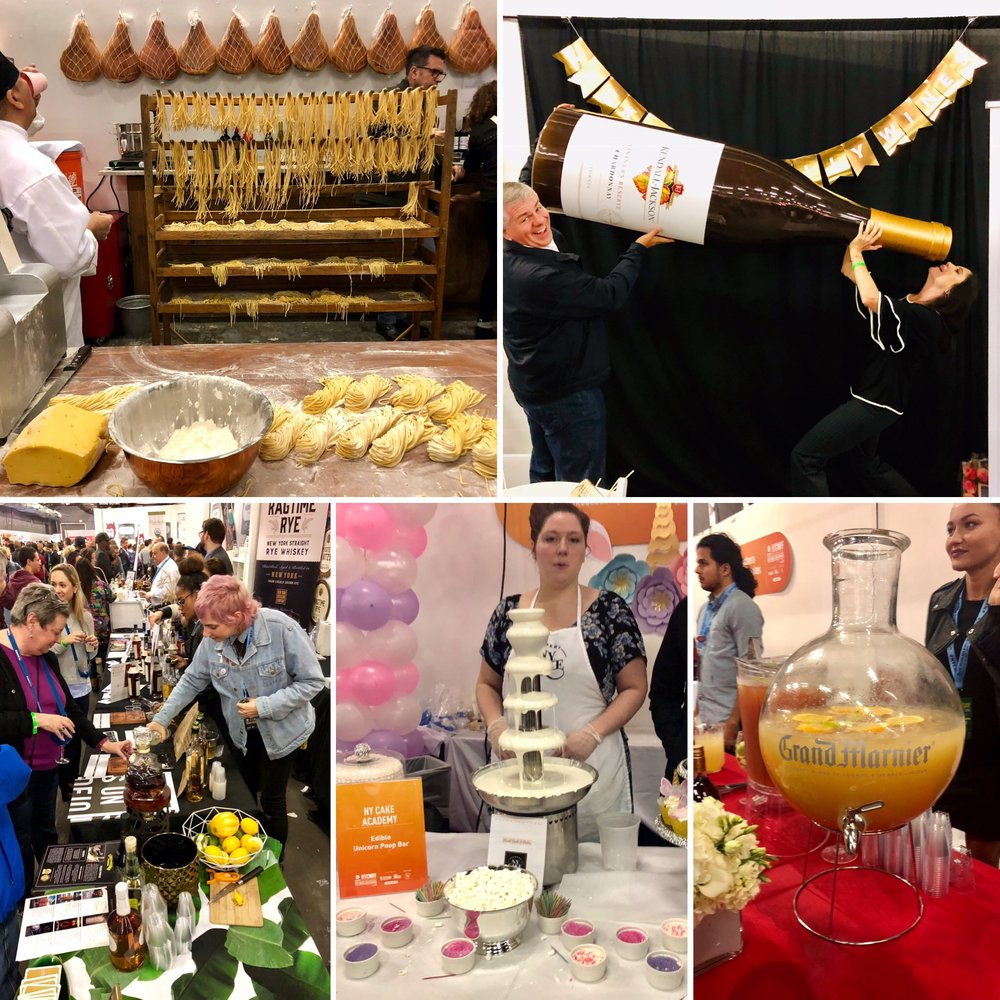 Grand Tasting, New York City Wine & Food Festival