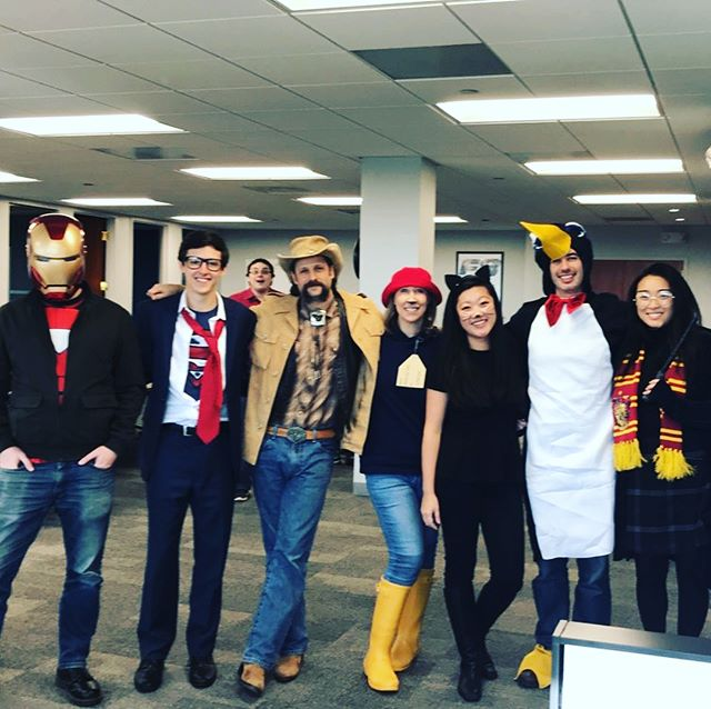 Our Boston office is bringing their A game to our costume and pumpkin carving contest! #mahketcast