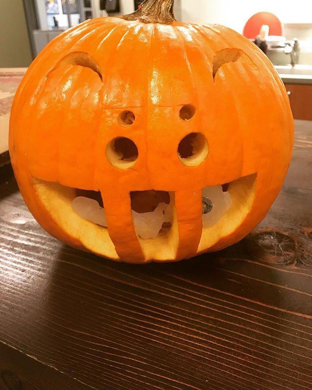 Shout out to Eunji for winning the Pumpkin Carving Contest! #fizzinrep #marketcastla