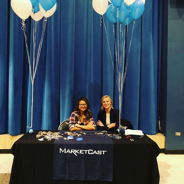 Thank you @ucla for having us last night! We were so impressed with all the young professionals and potential future MarketCasters we met!!! #uclacareerfair #marketcastla
