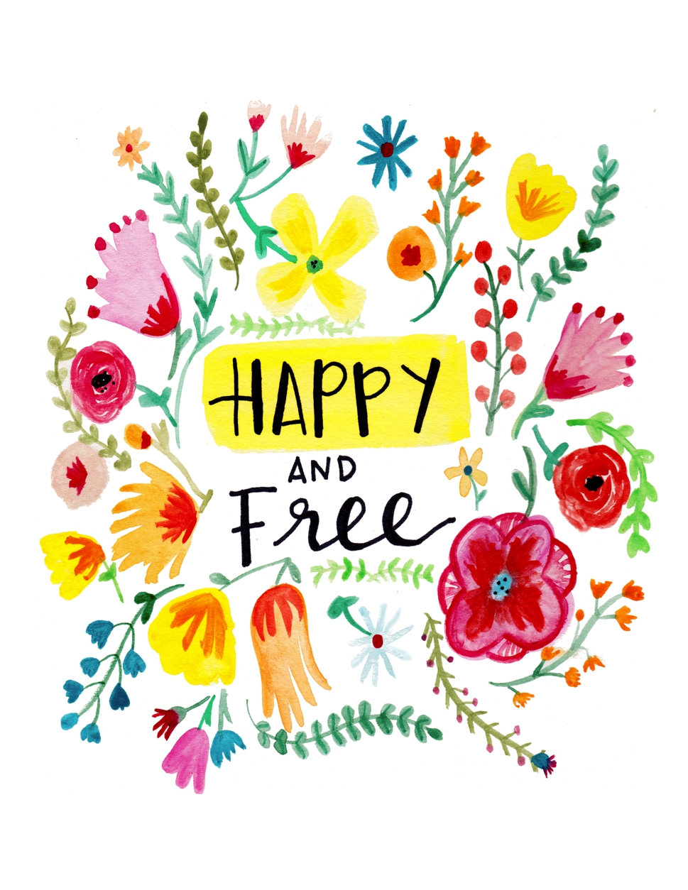 Happy & Free — Happy Hart Co.