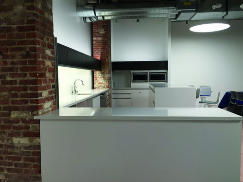 Office Kitchens — AMERICAN CABINET WORKS