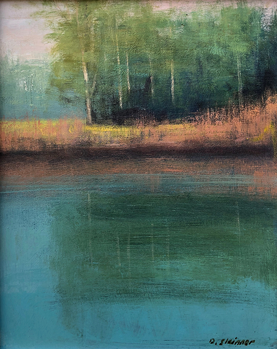 Lakeside Reflection (available)