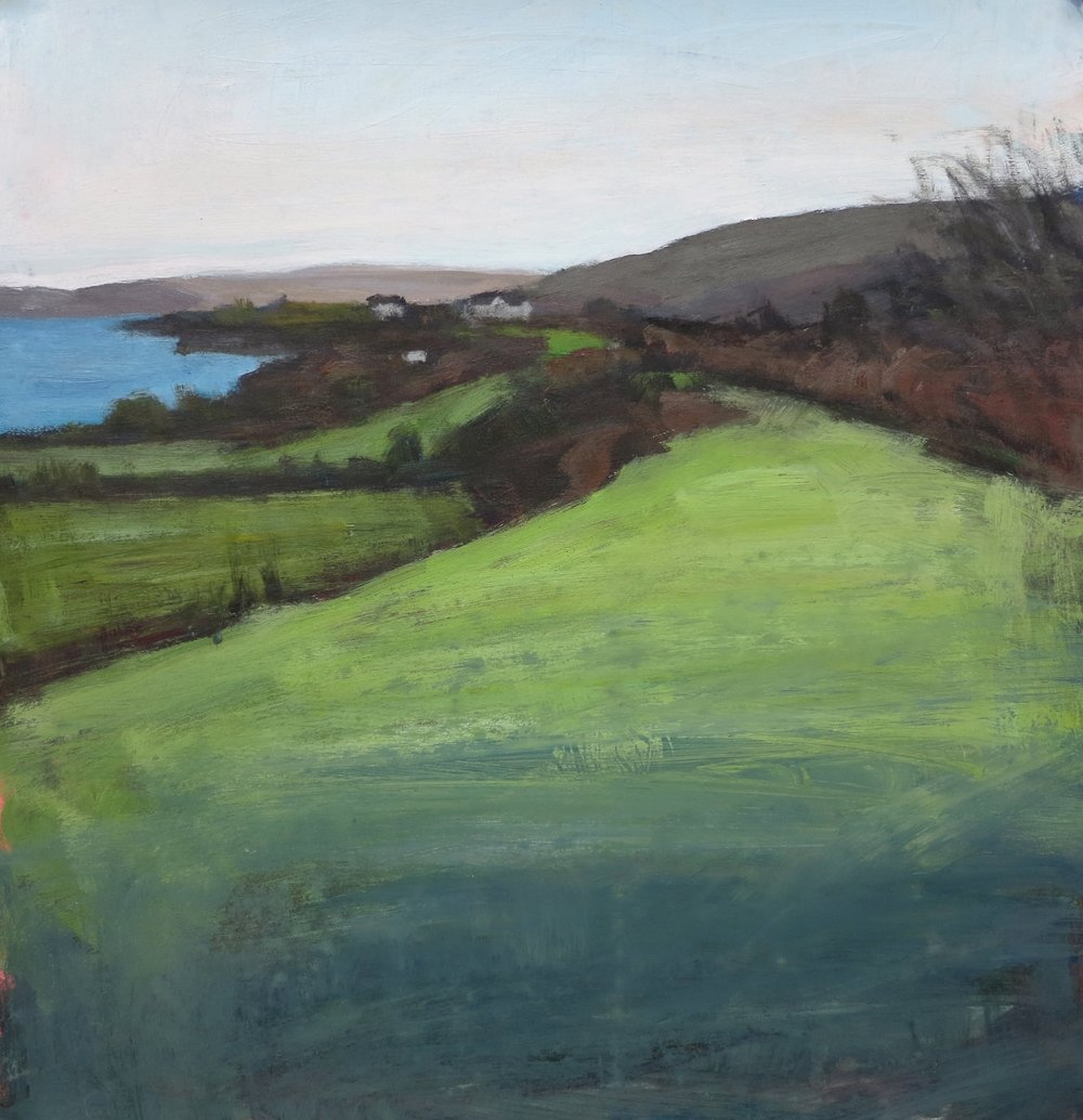 View to Ballyvaughan (sold)