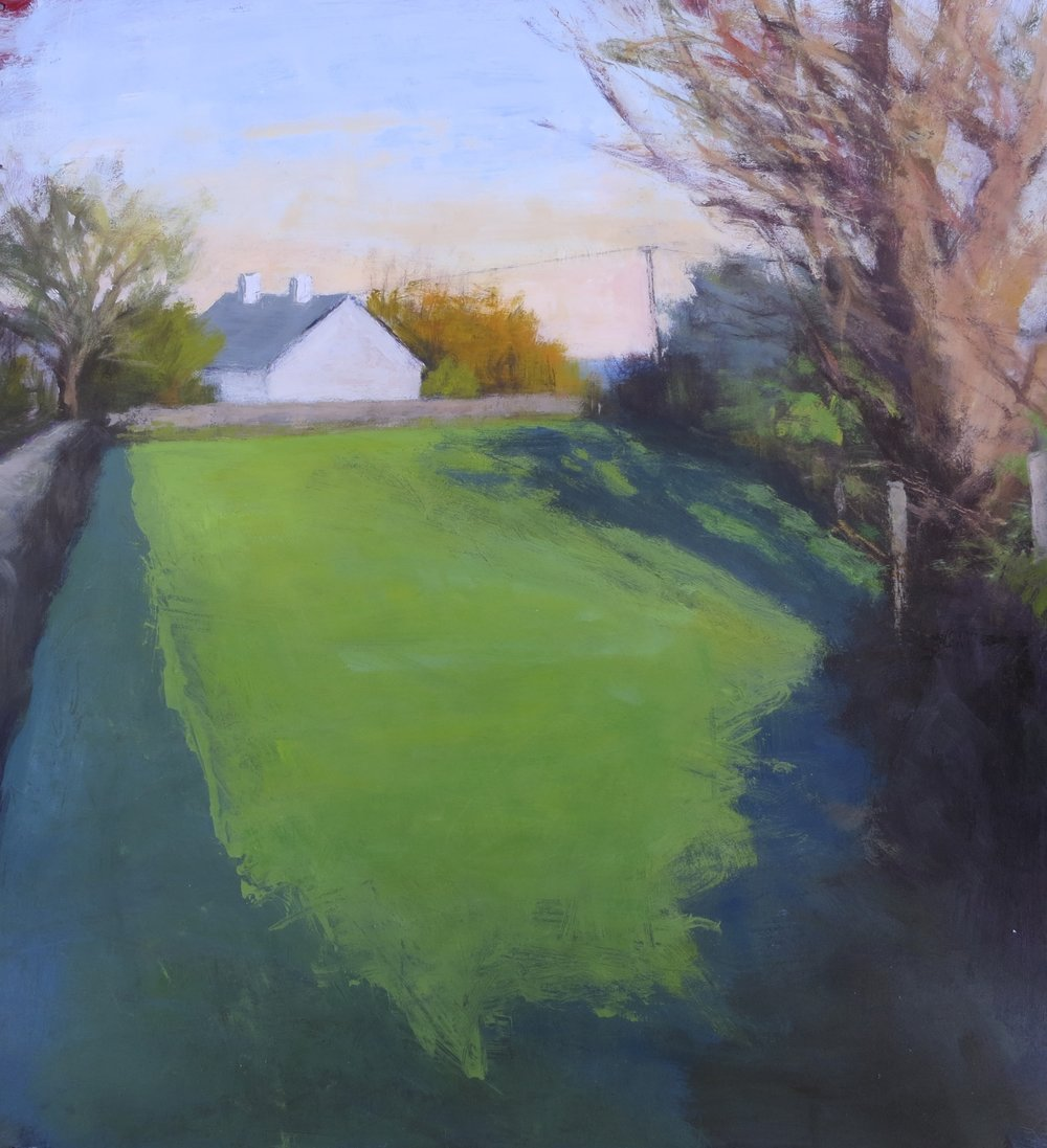 Walled Field Shadows (sold)