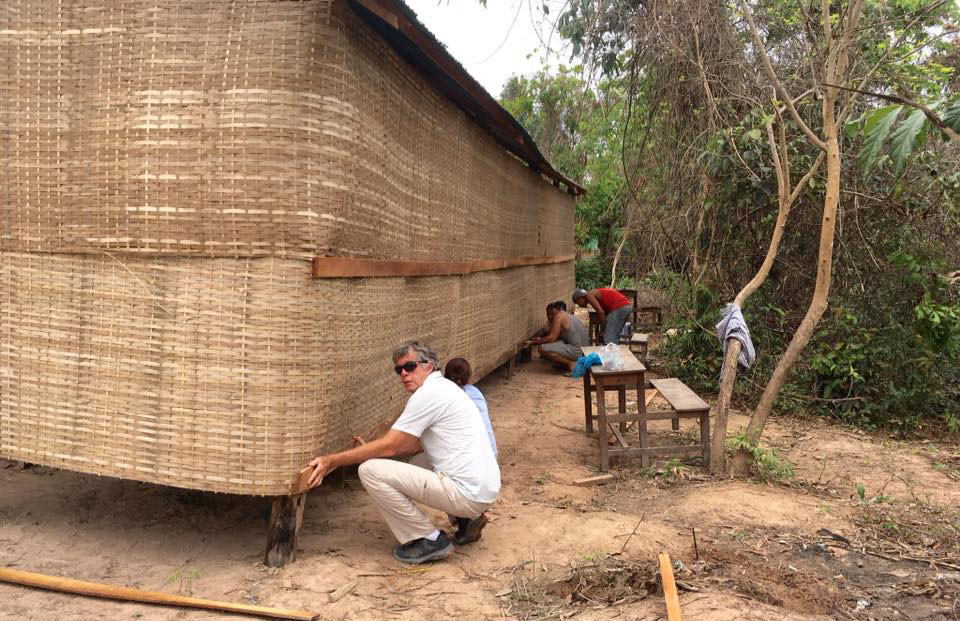 Adding New Walls To A Rural School