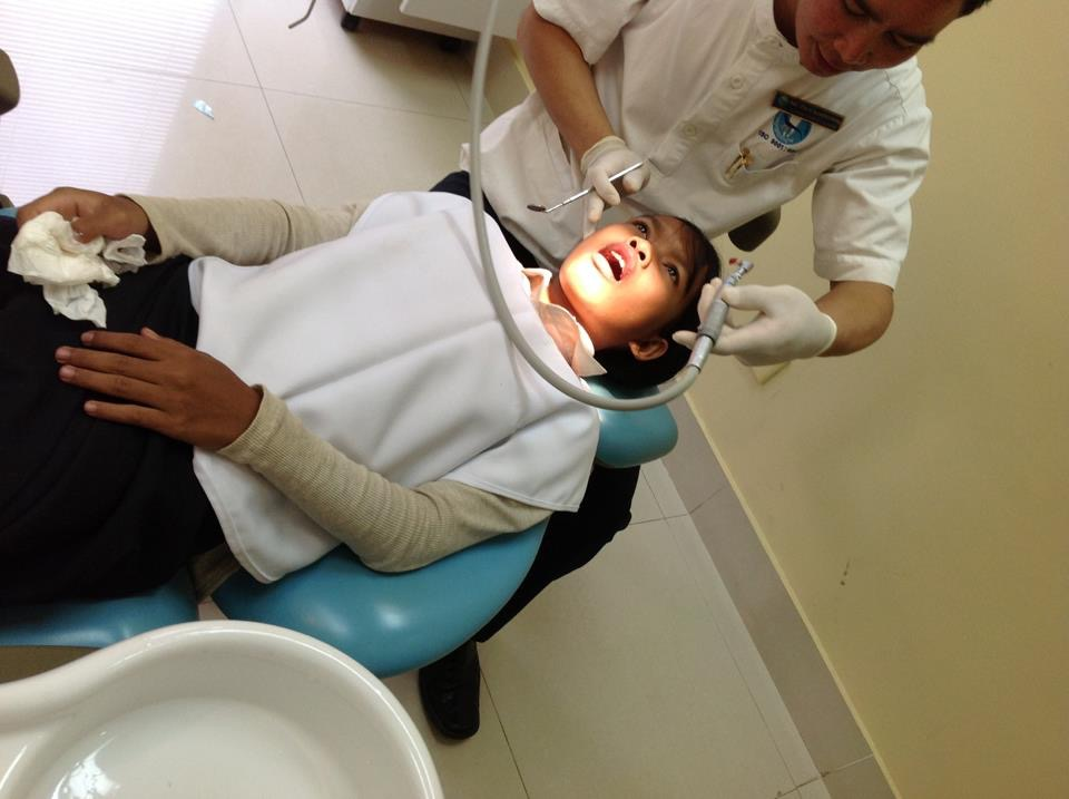 Dental work in Siem Reap
