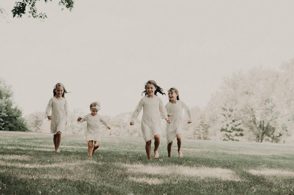 Eleanor, Sophia, Vivian & Adelyn, 4 girls that will definitely keep mom and dad busy.
