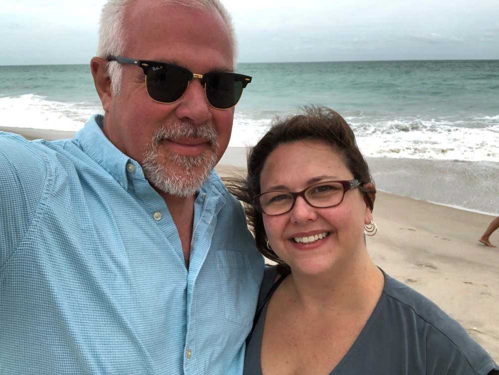 Dan and his wife, Lisa. -