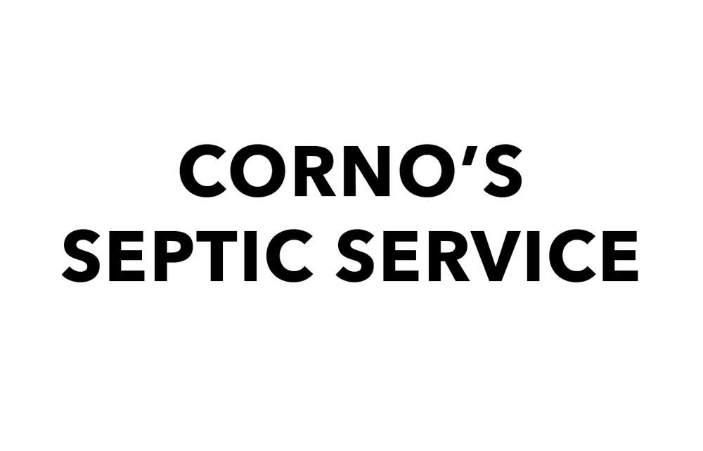 Corno's Septic Service