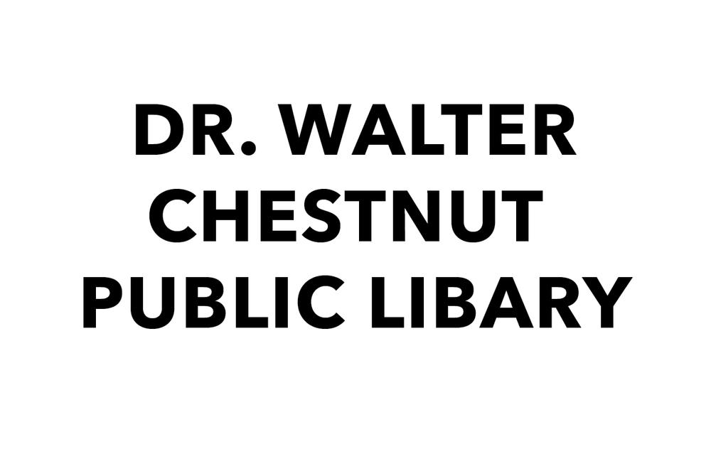 Dr. Walter Chestnut Public Libary