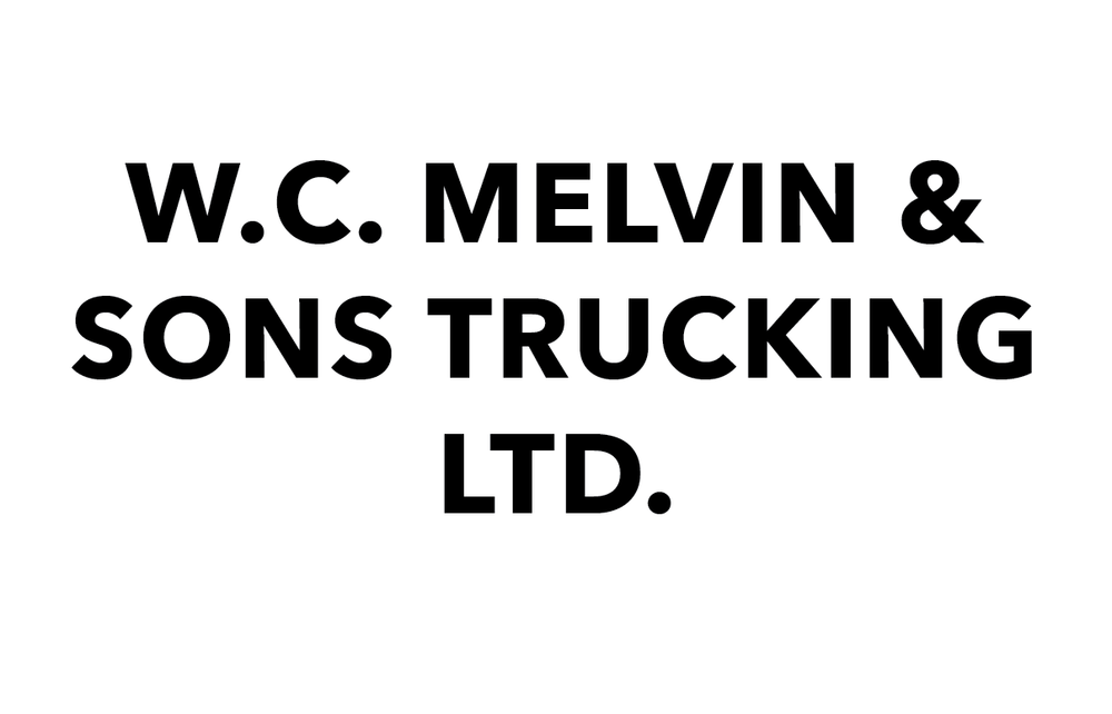 W. C. Melvin & Sons Trucking Ltd.