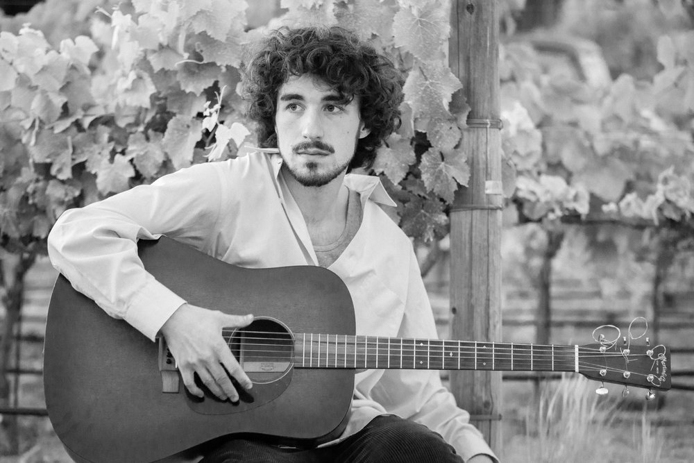 Vincent Randazzo - is a songwriter based out of Monterey, CA. For a time there was a conflict of self within his career; performing live primarily as a guitar brandishing soloist all the while releasing thickly arranged band-centric albums. 2018 ushers in a new era as Randazzo presents the Terrible Noise, a heady folk/psych suite employing the intimacies of his live performance balanced perfectly with explorative production.