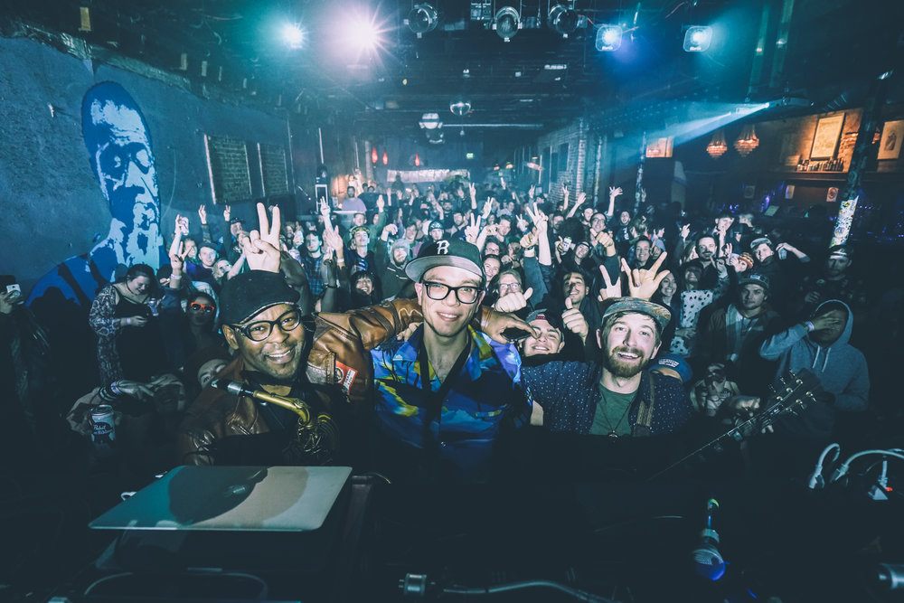 The Orcastrator opening for Eprom  (SOLD OUT)  at Cervantes' OtherSide in Denver, Colorado 5/10/2017 Photo: Dylan Bowman