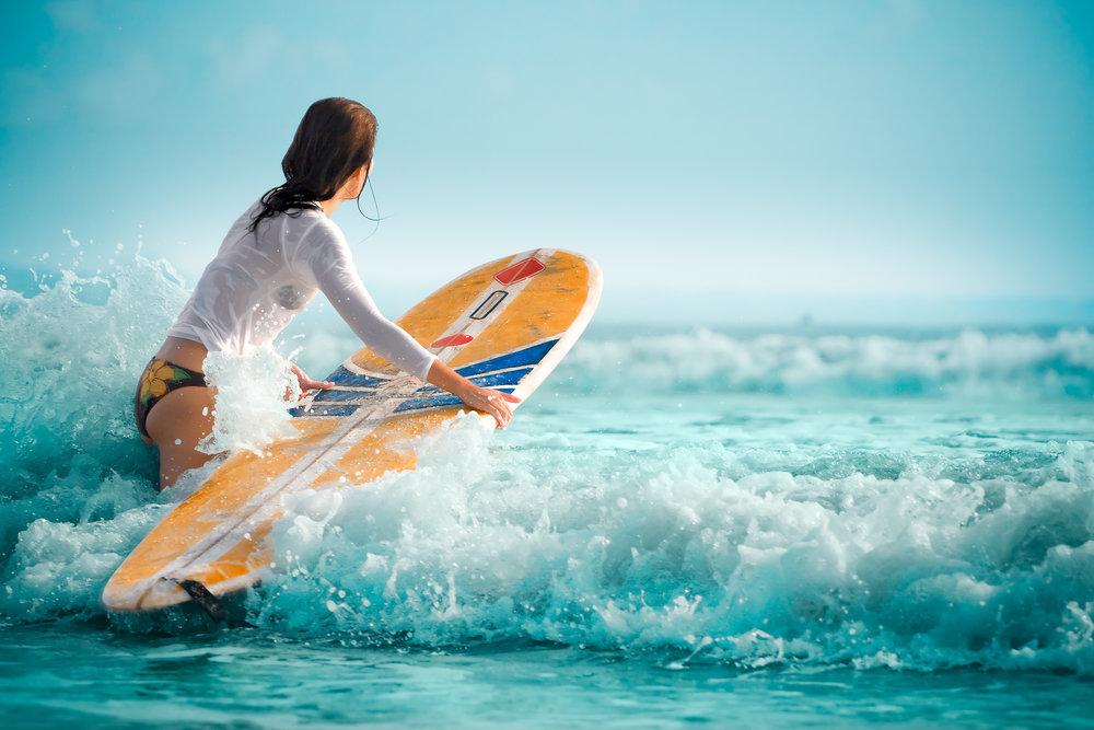 SURFING (Beginner to Intermediate)