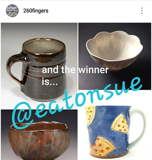 Congrats @eatonsue You're our #260giveaway2018 winner!!! Check your inbox!! Get your coat on and head on over to pick up your fabulous new #260fingers cup collection!!