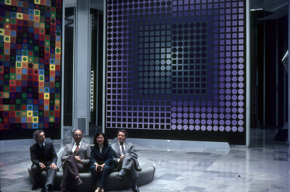 Works of Victor Vasarely (1977) | Photo Digitized By: Ormos Imre Foundation