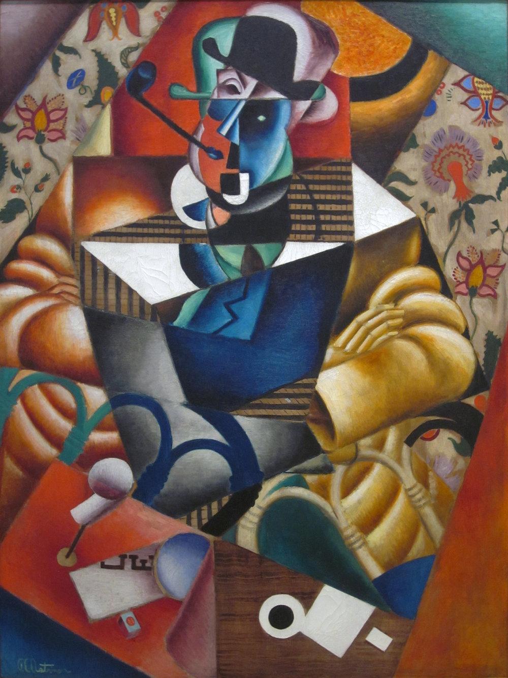 Le Fumeur  | Jean Metzinger (1913)