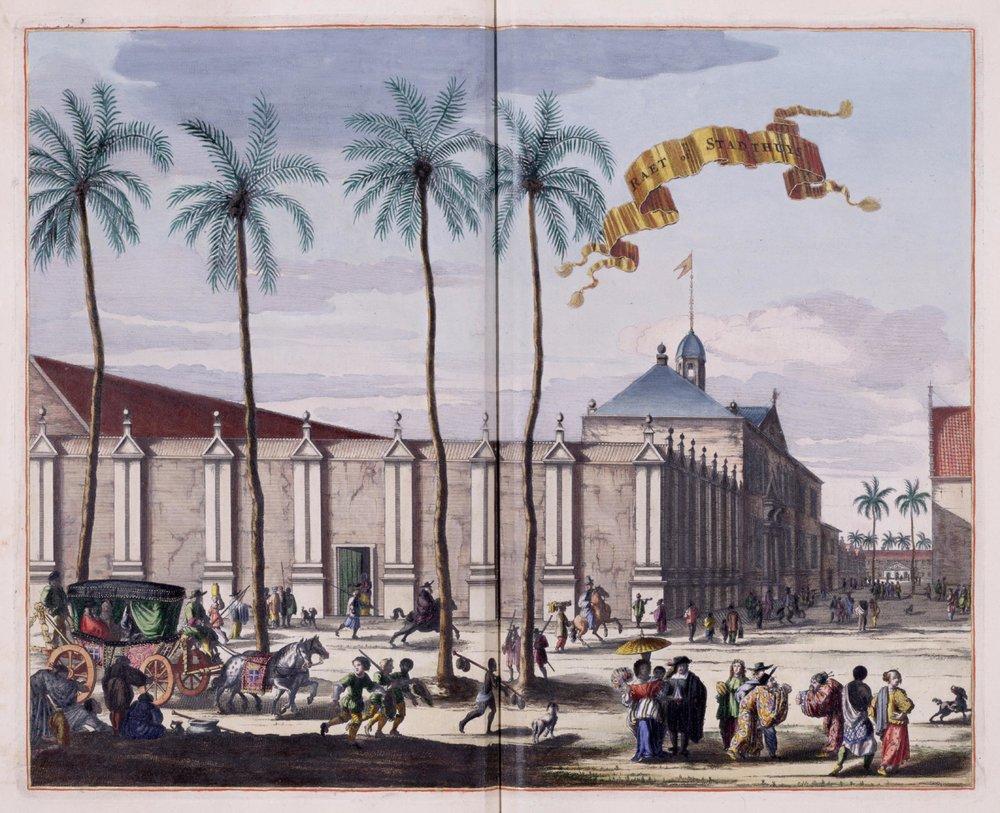 The city hall on Batavia  | Jacob van Meurs (1682)