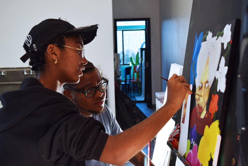 Quinton Gilmore - YAYA Alumnus, Urban Heroes & Mixed Media Teaching Artist -