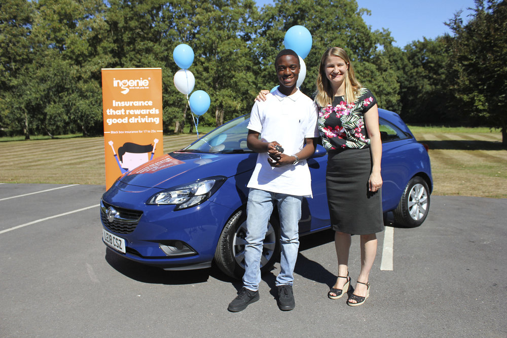 Win a Vauxhall Corsa - Just like our latest winner Rodney! Congratulations enjoy your new car.