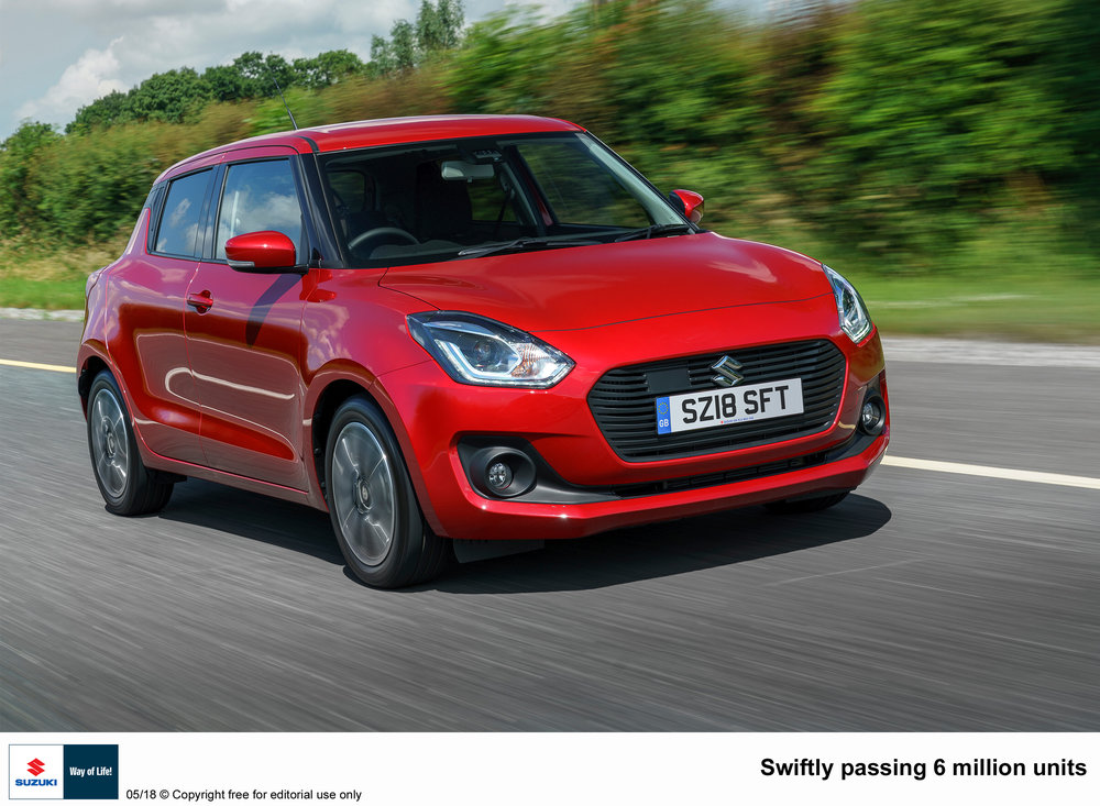The striking Suzuki Swift is one of our favourite superminis, with lots of kit and fashionable looks.