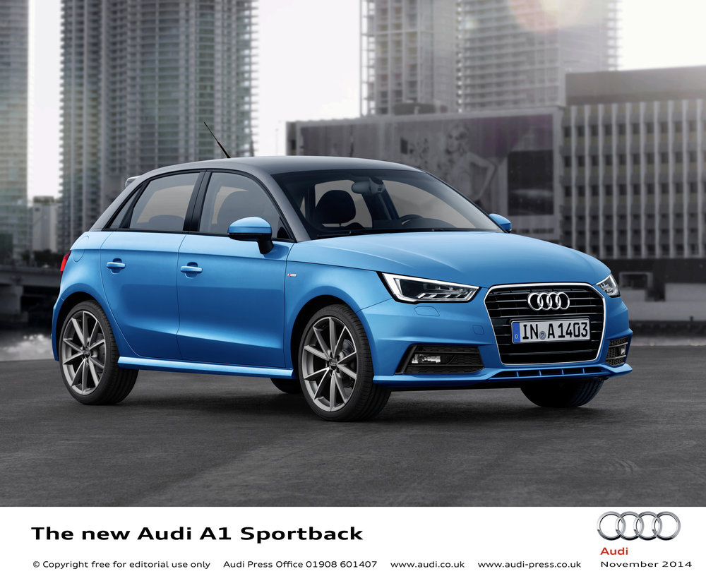 Audi A1 Sportback   The new Audi A1 Sportback looks stunning. It's great to drive and has an upmarket cabin – everything you'd expect of Audi, but in a small package.