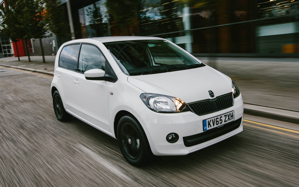 Skoda Citigo (11-)   For less than £5000, a used Skoda Citigo is great value for money. What's more, the Citigo is easy to drive and affordable to insure.